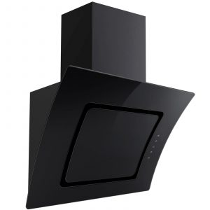SIA Single Electric 60cm Oven, Black Ceramic Hob & Curved Cooker Hood Extractor