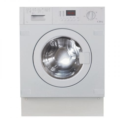 CDA CI971 60cm Integrated White 7kg LED 1400rpm 15 Programme Washer/Dryer