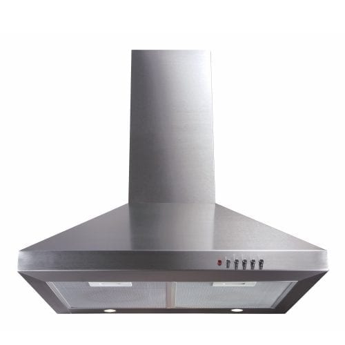 CDA ECH61SS 60cm Chimney Cooker Hood Extractor in Stainless Steel