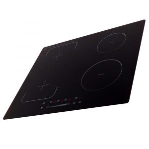 SIA INF60BL 60cm Black 4 Zone Flexi-Bridge Touch Control Electric Induction Hob