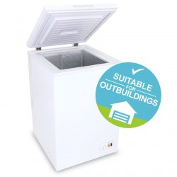 SIA CF100WH Chest Freezer In White | 104 Litres Capacity | A+ Energy Rating