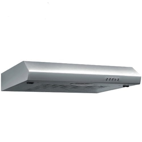 SIA ST60SS 60cm Slimline Visor Cooker Hood Extractor Fan in Stainless Steel
