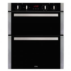 CDA DK751SS 60cm Built-Under Touch Control Electric Double Oven | A Rating