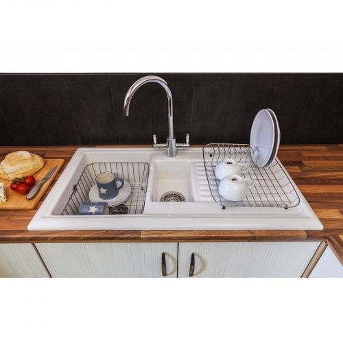 Reginox CBD 1 Stainless Steel Basket Drainer Rack for Kitchen Sinks