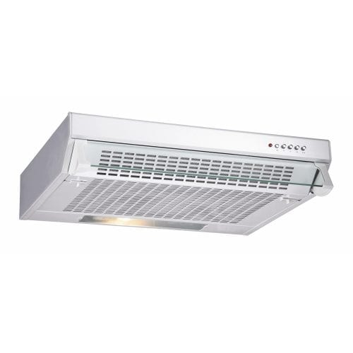 CDA CST61WH 60cm Slimline Visor Cooker Hood Extractor Fan In White