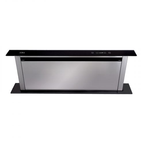 CDA EDD91BL 90cm Touch Control Downdraft Extractor In Black | A Rating