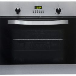 SIA SO112SS 60cm Stainless Steel Built in Digital Single Electric True Fan Oven
