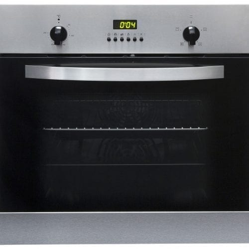 SIA SO112SS 60cm Built-in Digital Single Electric Fan Oven In Stainless Steel