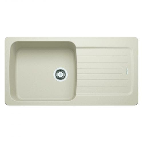 Franke Aveta 1.0 Bowl Cream Tectonite Reversible Kitchen Sink & Waste