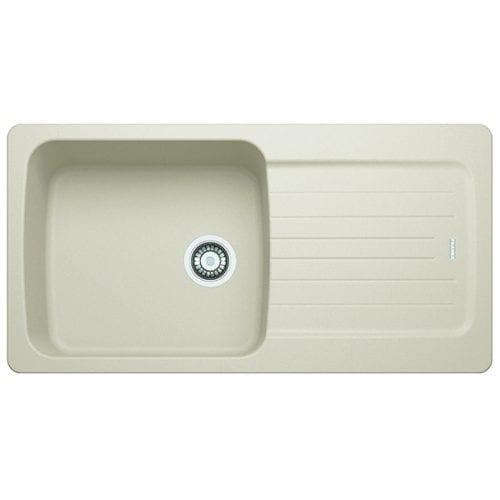 Franke Aveta 1.0 Bowl Cream Tectonite Kitchen Sink & Reginox Brooklyn Tap