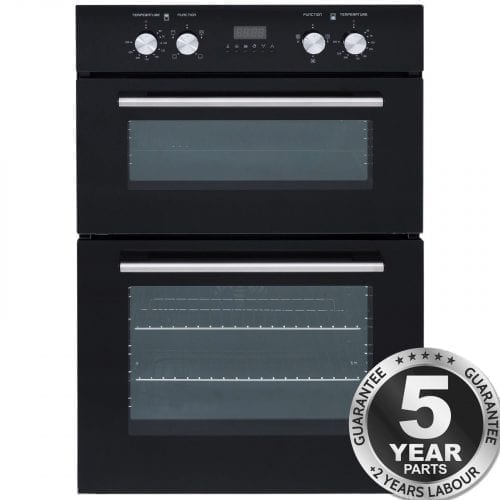 SIA DO102 Built In Electric Double Fan Oven With Programmable Digital Timer