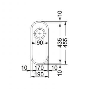 Franke Ariane ARX 110 17-D Undermount 0.5 Bowl Stainless Steel Kitchen Sink