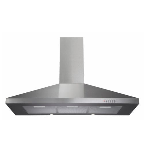 CDA ECH101SS 100cm Chimney Cooker Hood Extractor in Stainless Steel