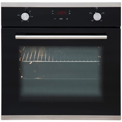 SIA 60cm Touch Control Electric Oven, Ceramic Hob & Chimney Cooker Hood