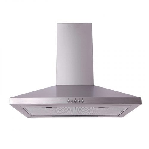 SIA CH61SS 60cm Chimney Cooker Hood Kitchen Extractor Fan In Stainless Steel