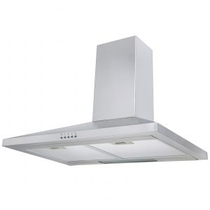 SIA CHL61SS 60cm Stainless Steel Chimney Cooker Hood Extractor Fan & 3m Ducting