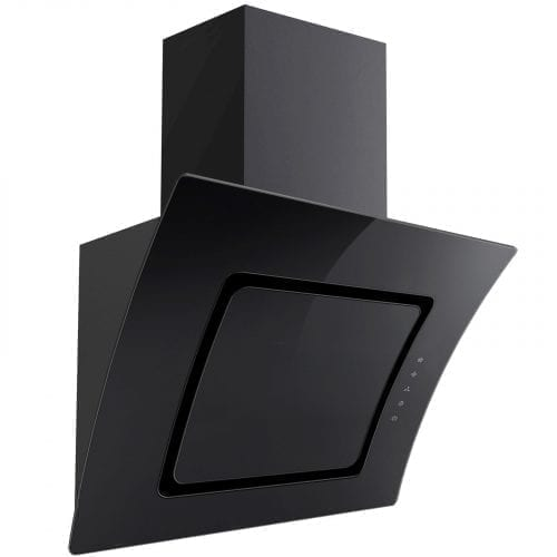 SIA Single Electric 60cm Oven, Black 70cm Gas Hob & Curved Glass Cooker Hood