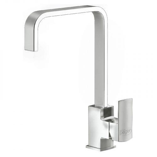 Astracast Sierra 1.5 Bowl White Kitchen Sink & Reginox Astoria Chrome Mixer Tap