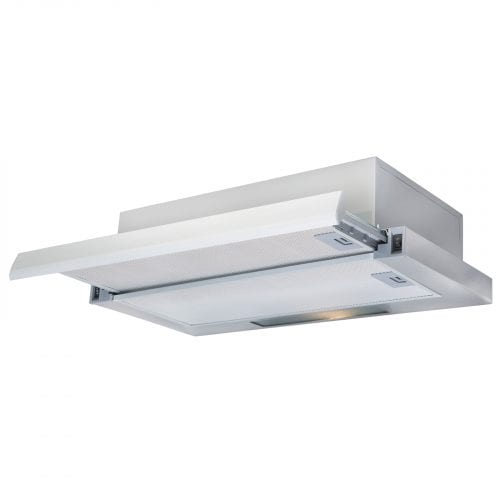 SIA TSC60SS 60cm Telescopic Integrated Stainless Steel Cooker Hood Extractor Fan