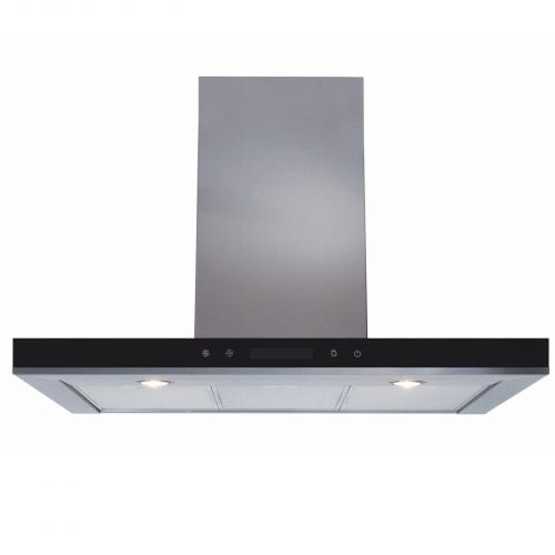 SIA LIN91SS 90cm Linear Stainless Steel Touch Control Cooker Hood Extractor Fan