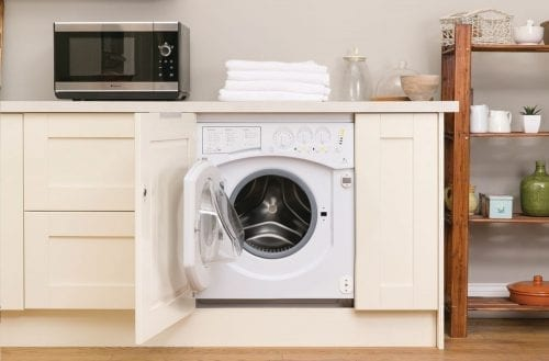 Hotpoint BHWD149 Aquarius White 7kg 1400rpm Integrated Washer Dryer