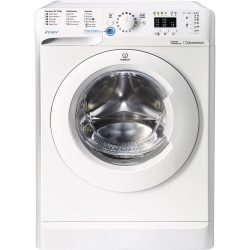 Indesit BWA 81283X W 1200 Spin Freestanding Washing Machine In White A+++