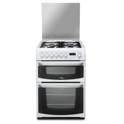 Hotpoint CH60DHWFS Cannon White Freestanding 60cm Dual Fuel Double Oven Cooker