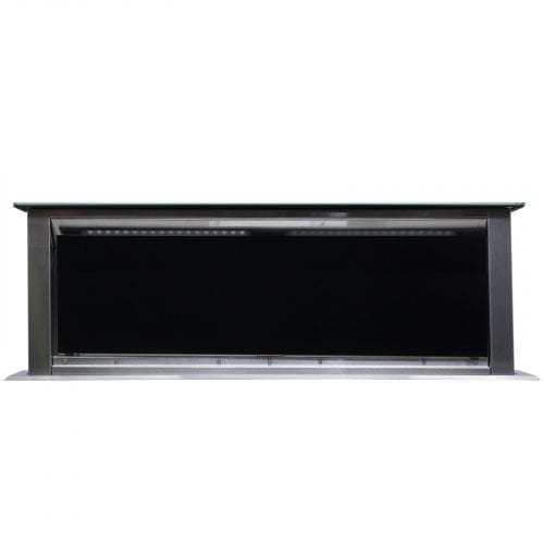 SIA DR91BL 90cm Touch Control Downdraft Black Kitchen Cooker Hood Extractor Fan