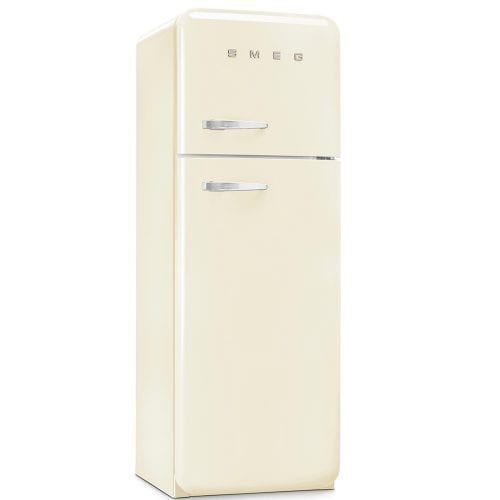 Smeg FAB30RFC 50's Retro Style FreeStanding Fridge Freezer In Cream A++