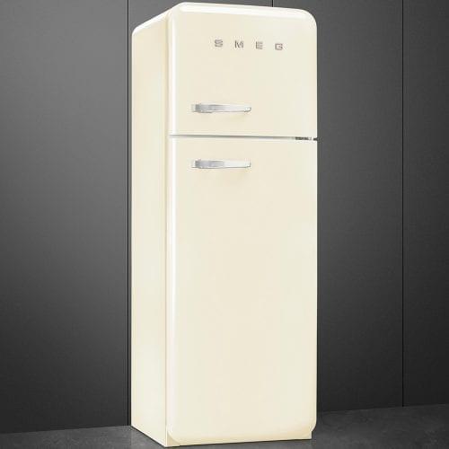 Smeg FAB30RFC 50's Retro Style FreeStanding Fridge Freezer In Cream A++