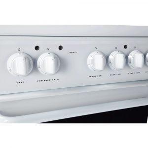 Hotpoint HAE51P S 50cm Freestanding White Ceramic Twin Cavity Double Oven