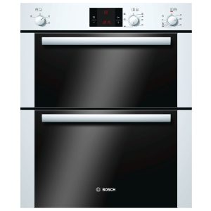 Bosch HBN13B221B Built Under Multi Function Double Oven In White