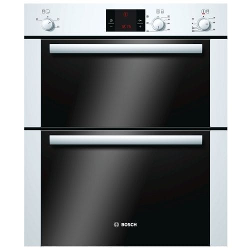 Bosch HBN13B221B Built In Multi Function Double Oven In White