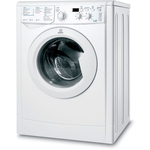 Indesit Ecotime IWDD 7123 Freestanding Washer Dryer In White