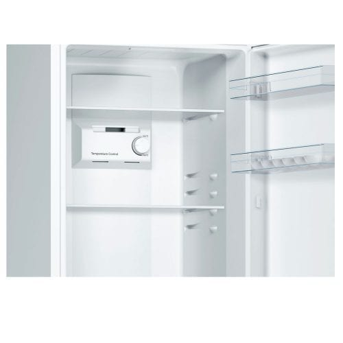 Bosch KGN33NW20G No Frost 50/50 Fridge Freezer In White A+ Energy Rating