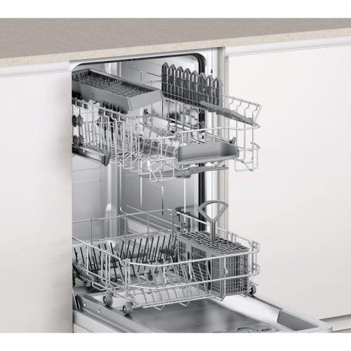 Bosch SPV40C10GB ActiveWater 45cm Integrated Slimline Dishwasher A+ Rating
