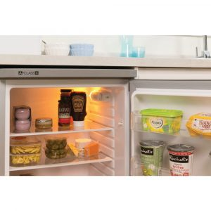 Indesit TLAA 10 SI Silver Freestanding Under Counter Fridge A+ Energy Rating
