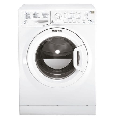 Hotpoint WDAL8640P Aquarius Washer Dryer In White