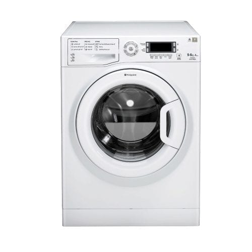 Hotpoint WDUD 9640P UK 9kg 1400rpm White Freestanding Washer Dryer A Rating