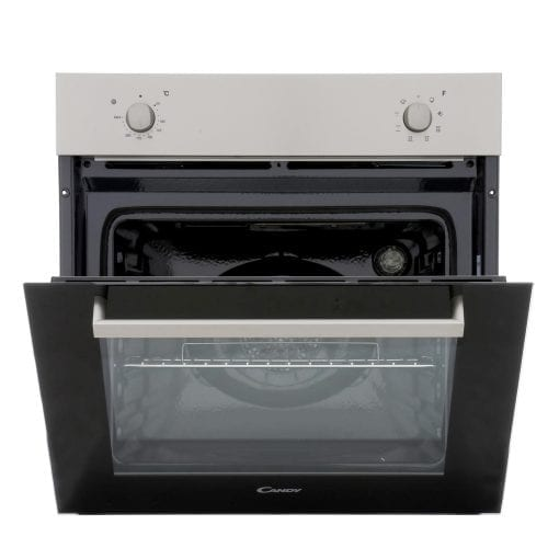 Candy FPE206/6X 60cm Stainless Steel Electric Built In Single Electric Oven