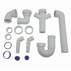 CDA PP1 Universal Fitting Space Saver Plumbing Pack For CDA Single Bowl Sinks
