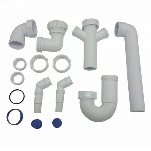 CDA PP1 Space Saver Plumbing Pack For CDA Single Bowl Sinks