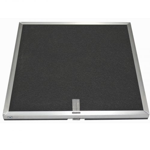 CDA CHA12 Cooker Hood Recirculation Square Charcoal Filter For ECP/ECN Models