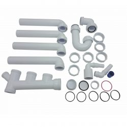 CDA PP2 Universal Fitting Space Saver Plumbing Pack For CDA 1.5 Bowl Sinks
