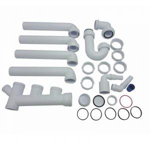 CDA PP2 Universal Fitting Space Saver Plumbing Pack For CDA 1.5 Bowl Sinks