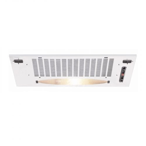 CDA CCA5WH 50cm Under Canopy Cooker Hood Kitchen Extractor Fan In White