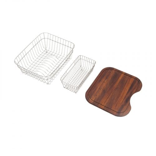 CDA PA2 Accessory Pack For AS2 and KG42 Kitchen Sinks - Chopping Board & Baskets
