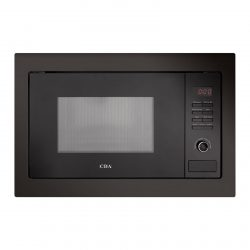 CDA VM130BL 25L Black 900W Integrated Built In Microwave Oven With Auto Defrost