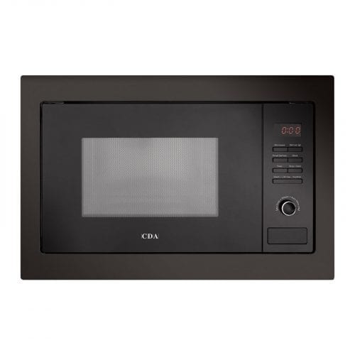 CDA VM130BL 25L 900W Integrated Built in Microwave Oven in Black