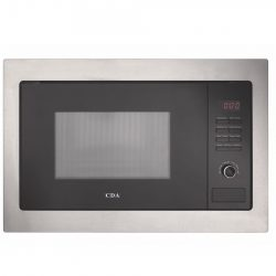 CDA VM230SS Built in Microwave Oven & Grill in Stainless Steel & Black